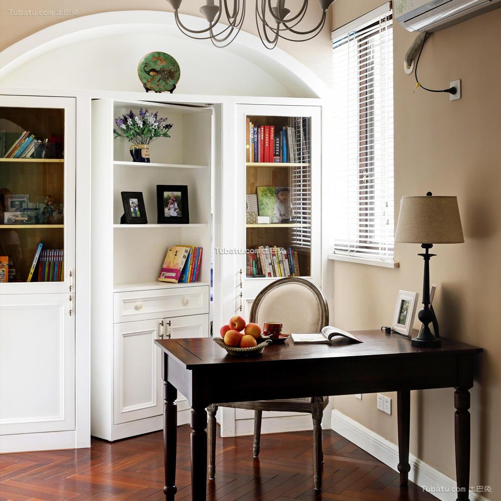 家居书房混搭风格装修案例