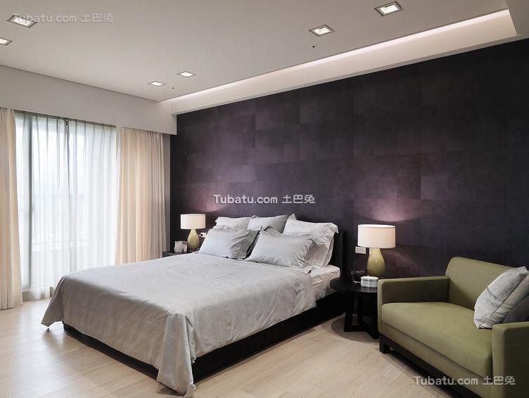 简约风格卧室内效果图片