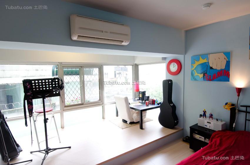 宜家设计卧室休闲区欣赏