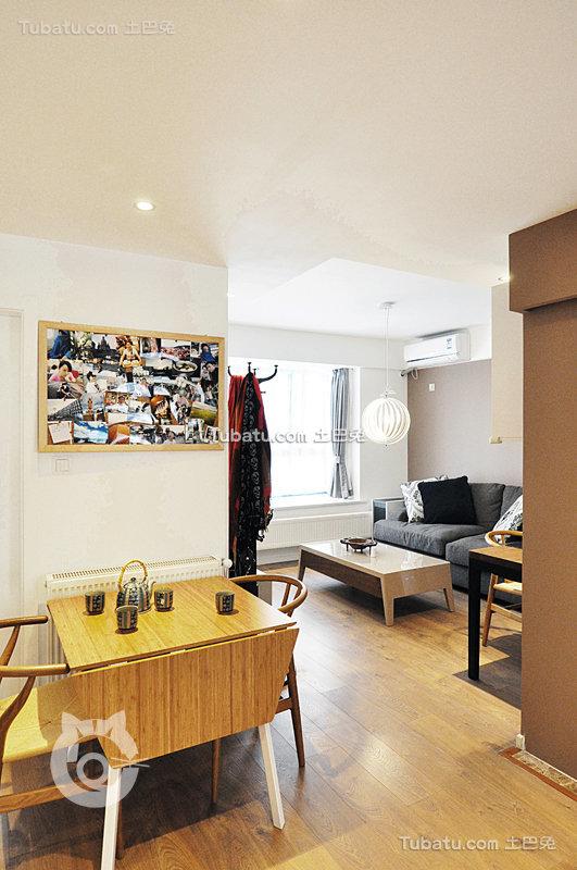 现代都市家居客餐厅装修案例