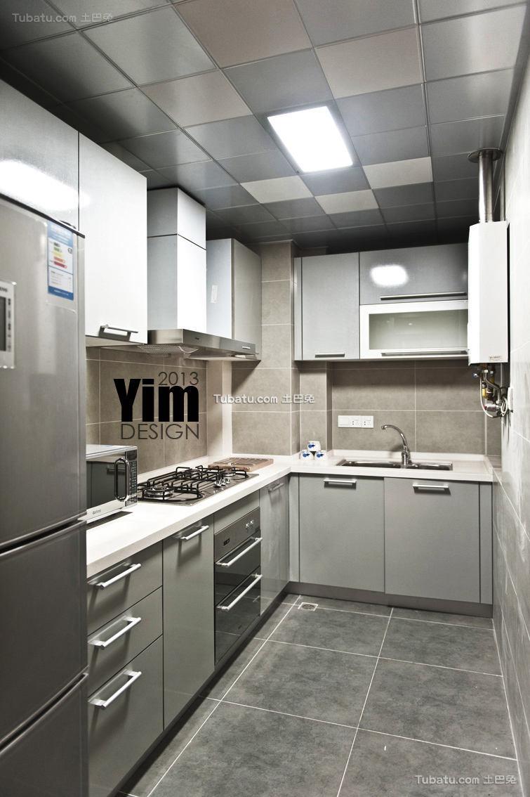 现代都市风家居厨房装修案例