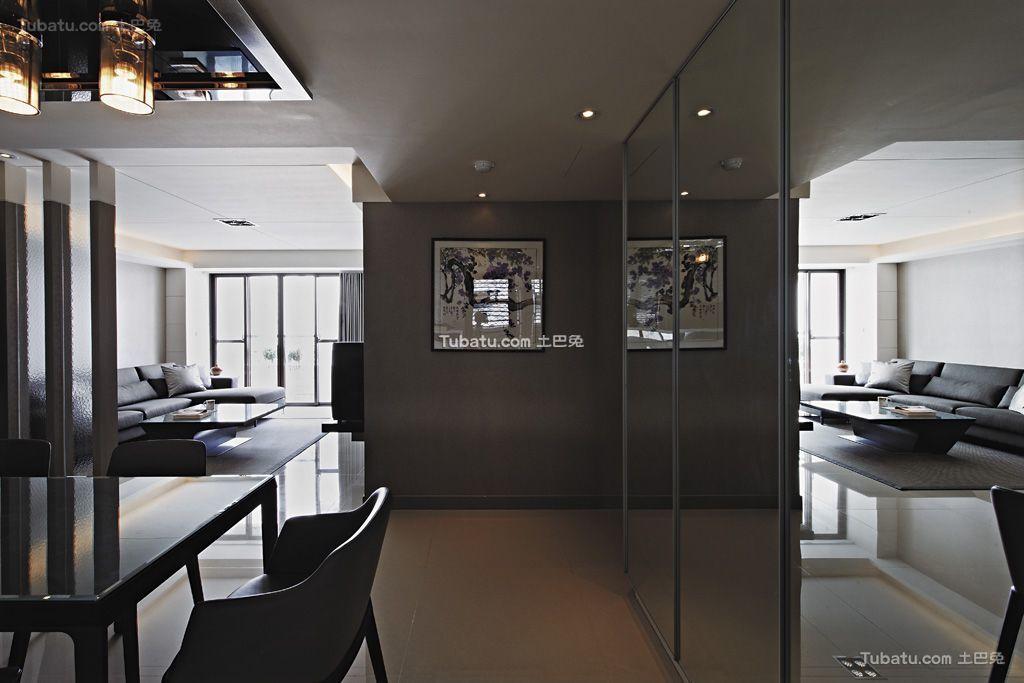 现代家装隔断墙欣赏