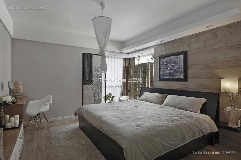 简洁日式卧室装修案例