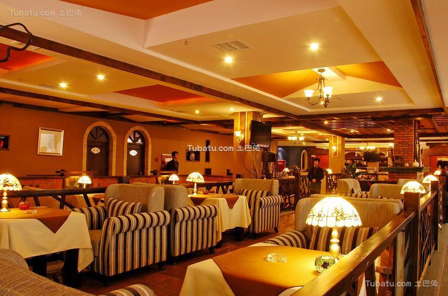 简约咖啡厅设计装饰效果图