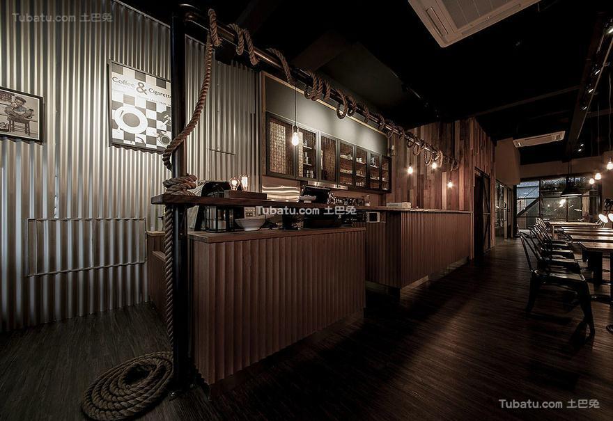 咖啡厅吧台设计装饰效果图