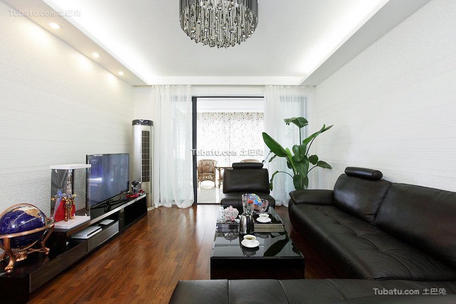 现代4平米客厅欣赏