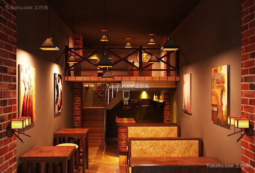 酒吧设计室内效果图