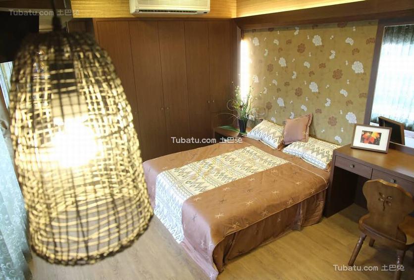 2016东南亚风格卧室室内装饰图片