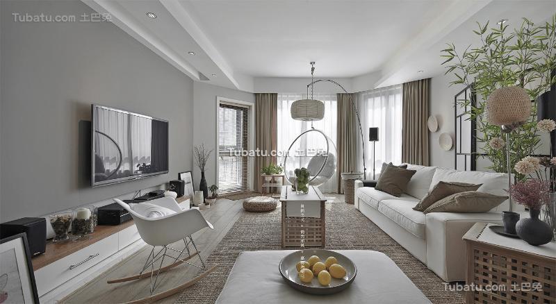 简约日式三居室装修设计
