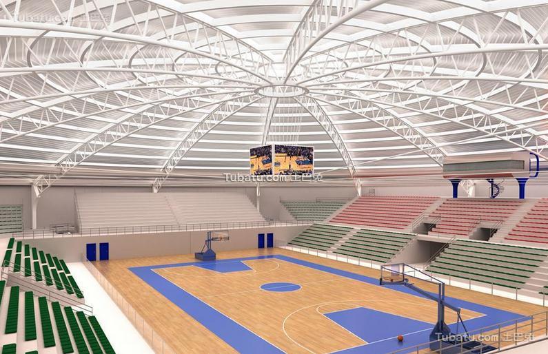 篮球体育馆设计室内图片