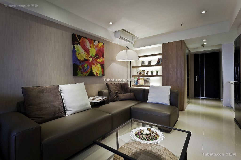 现代风格两居室大全欣赏