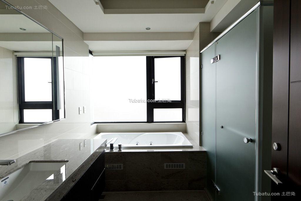 2015现代装修卫生间