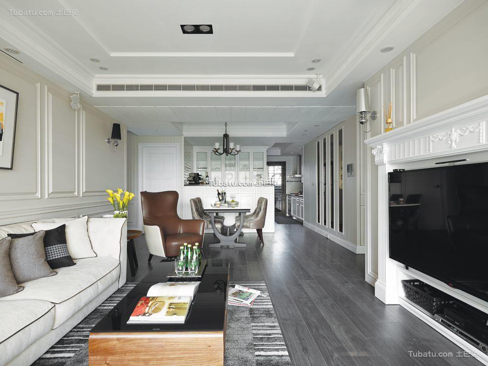 客厅后现代装修