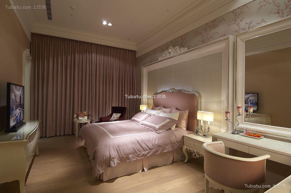 法式豪华时尚卧室图片
