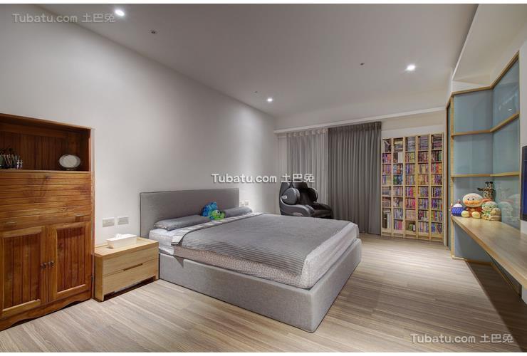 现代风格卧室设计装饰效果图