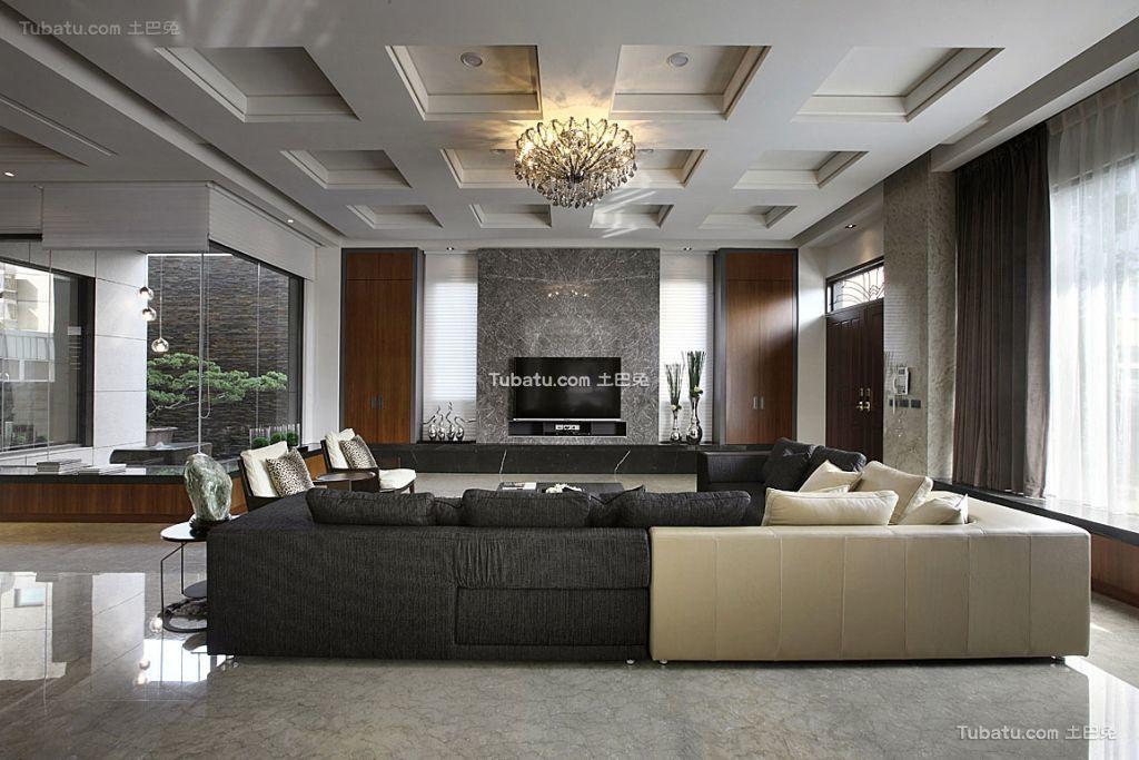 后现代时尚130平米四居室大全