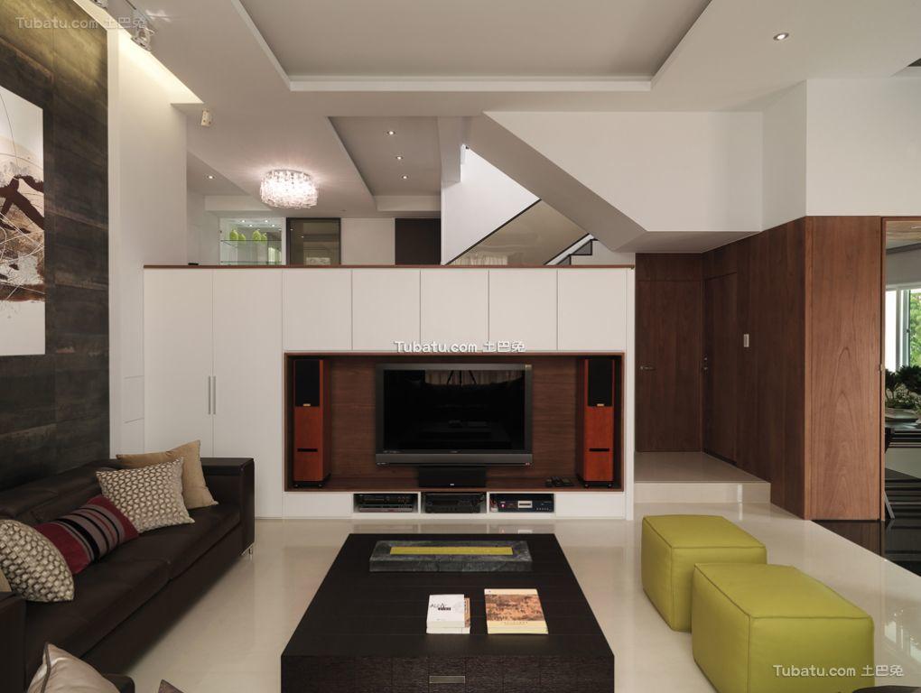 现代简约设计四居室风格效果图
