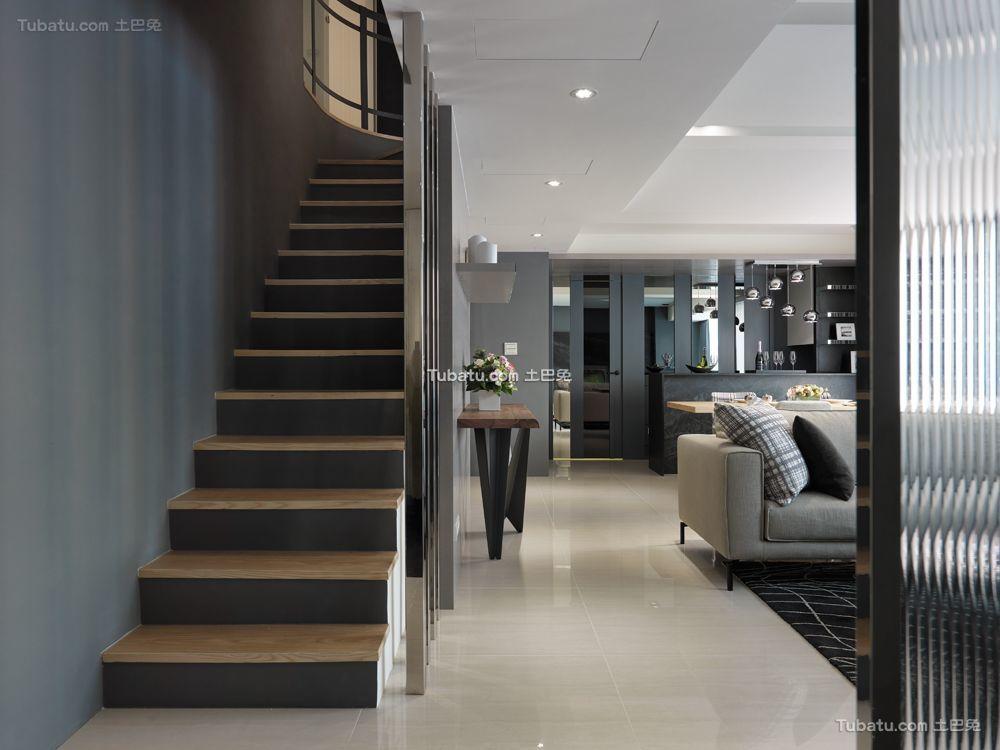 现代弧形楼梯