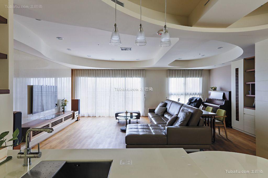 后现代客厅设计