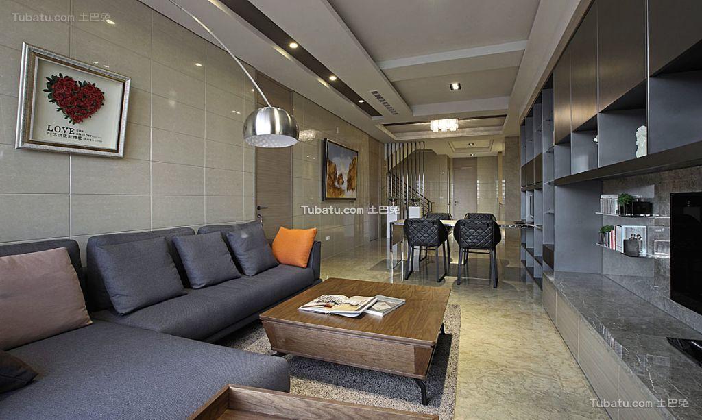 后现代客厅装修