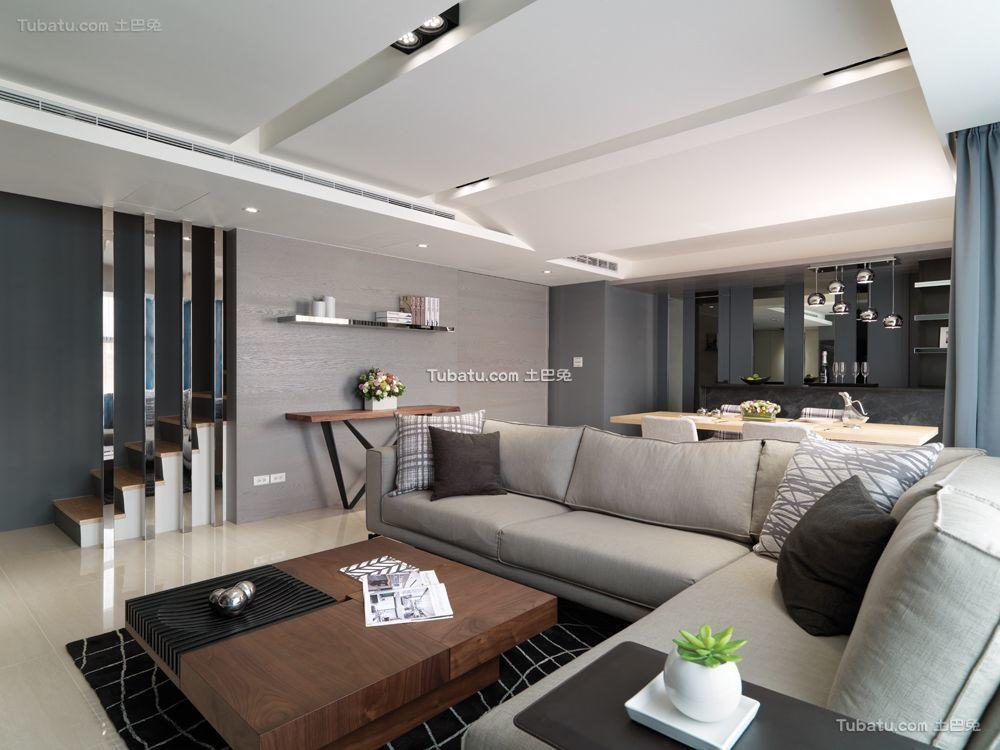 现代三居室效果图大全欣赏