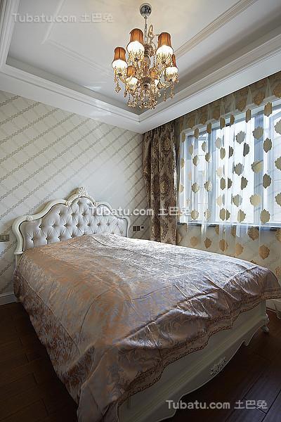 精美奢华新古典卧室装修