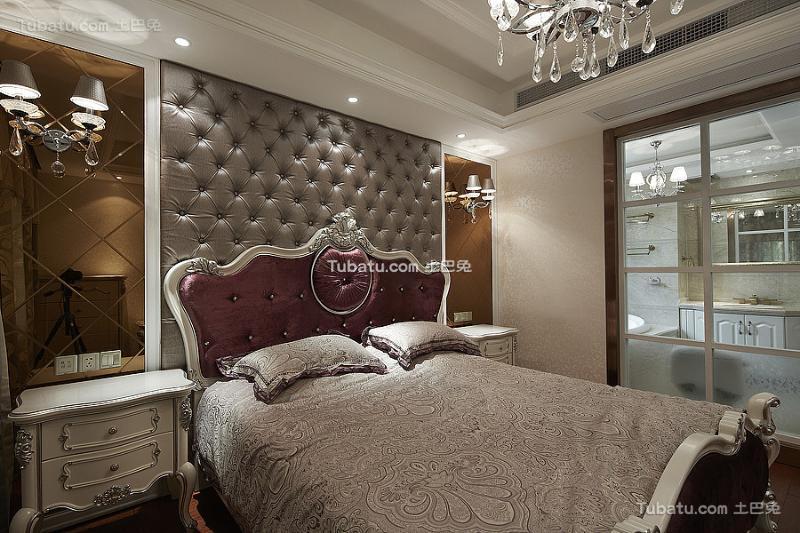 新古典奢华精美卧室装修案例