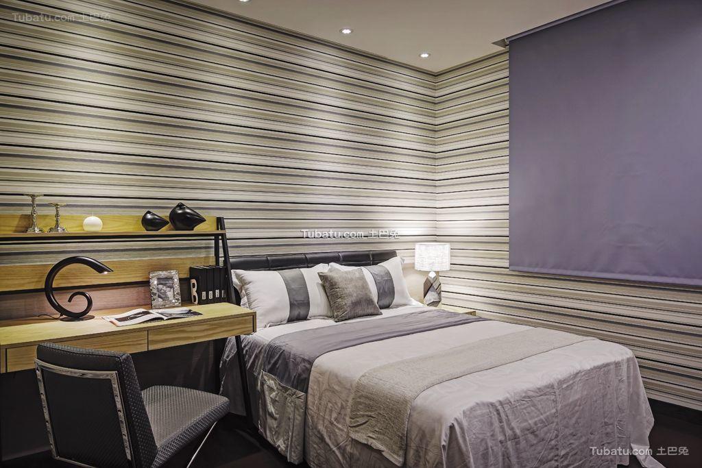 现代卧室家装设计效果图