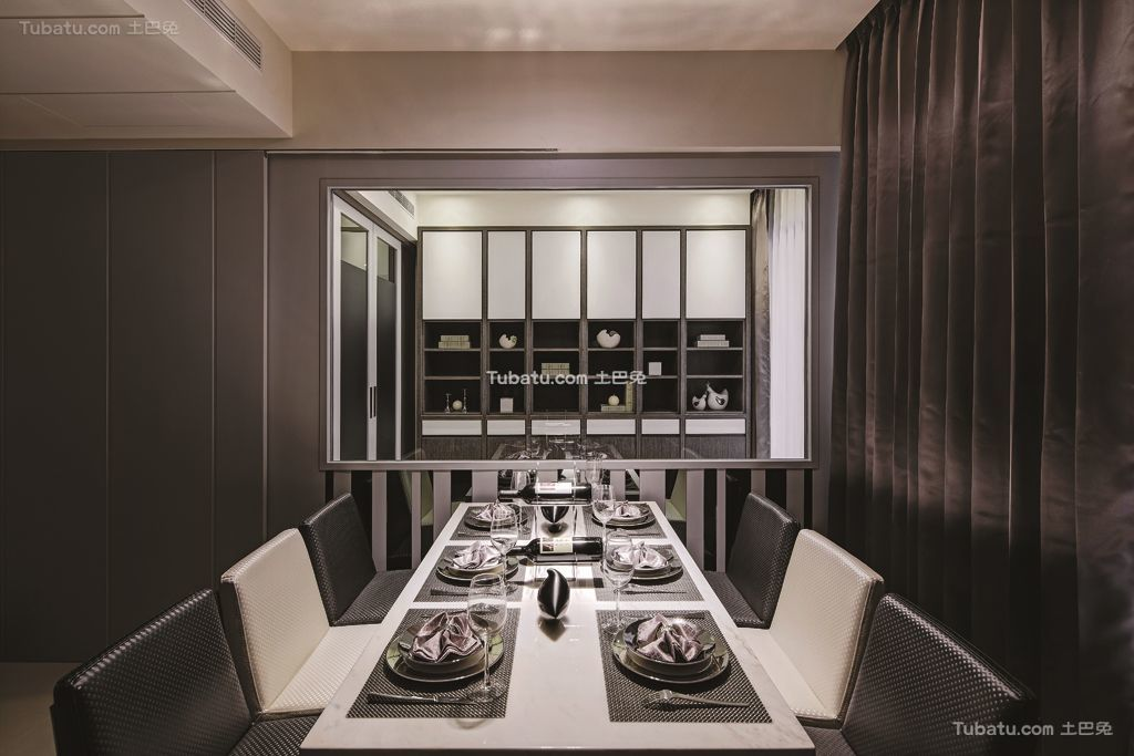 现代餐厅设计装饰效果图欣赏