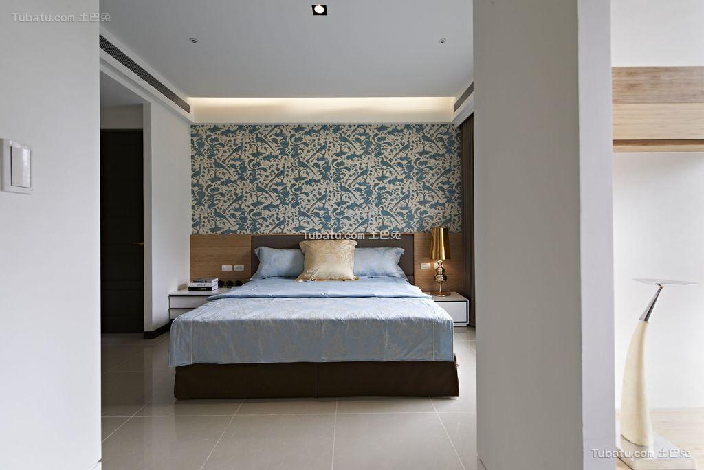 时尚现代卧室室内效果图