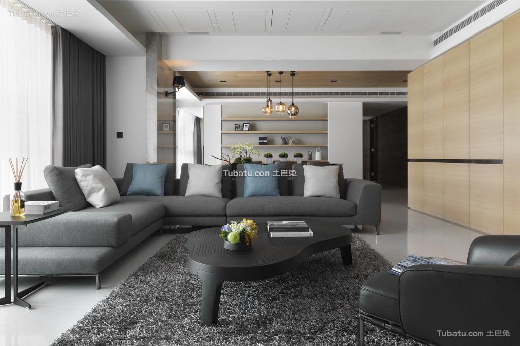 宜家公寓室内客厅效果图