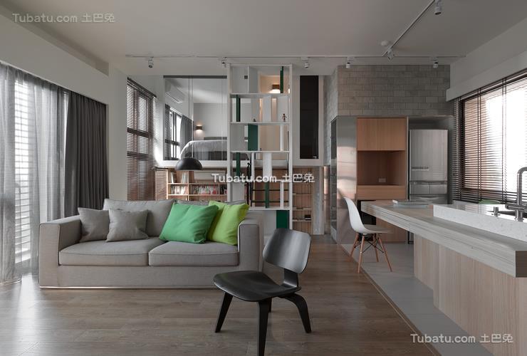 北欧10平米客厅效果图