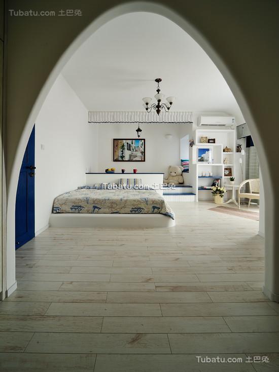 明亮简约地中海儿童房整体装修