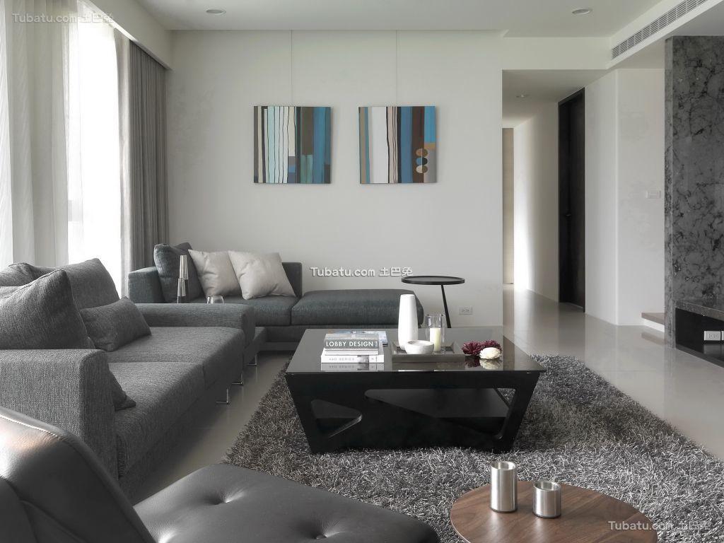 美式风格两居室家居效果图片