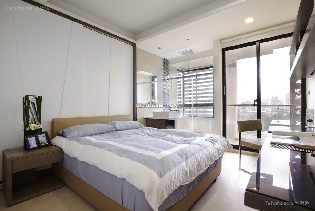 简约风格复式卧室装饰效果图欣赏