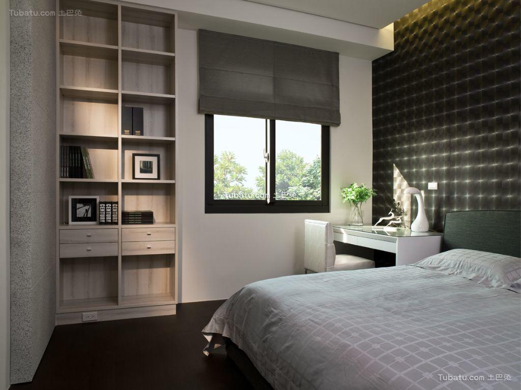 现代风格别墅卧室装潢效果图