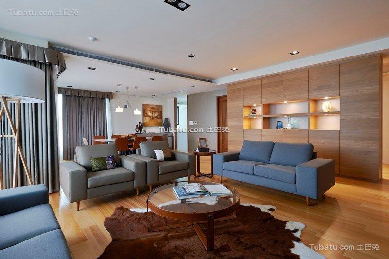 宜家风格一居室装饰案例图片