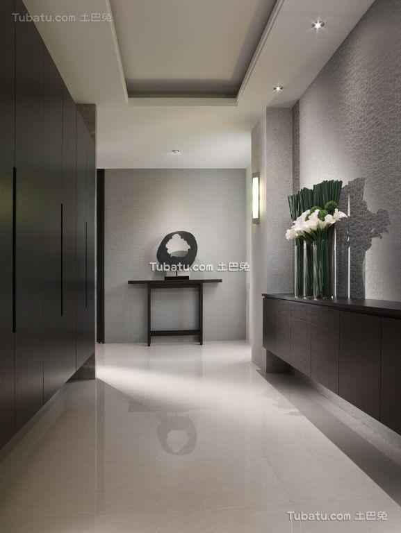 现代风格室内过道设计装潢效果图