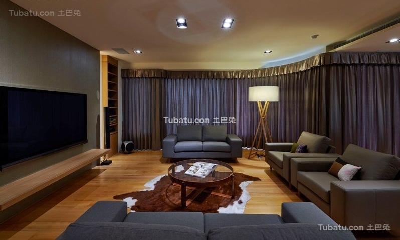 宜家风格家居客厅装饰案例图片