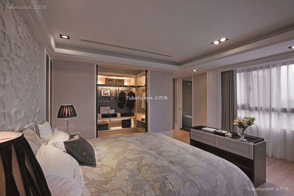 后现代四居卧室大全