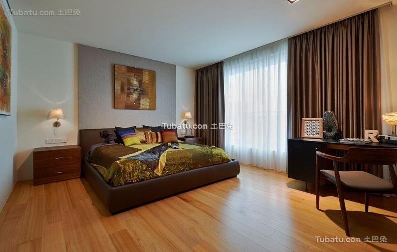 宜家风格一居卧室装饰案例图片欣赏