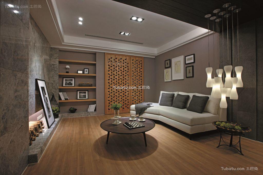 后现代时尚设计小客厅欣赏