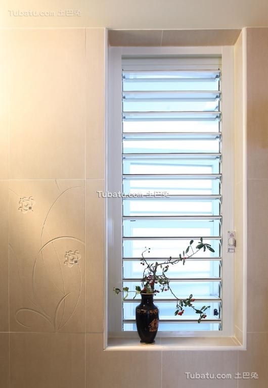 简约室内窗户效果图