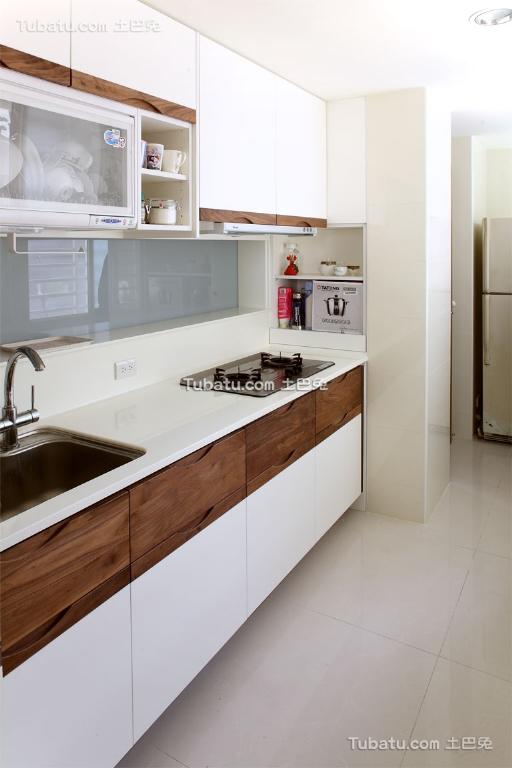 时尚简约厨房家装效果图