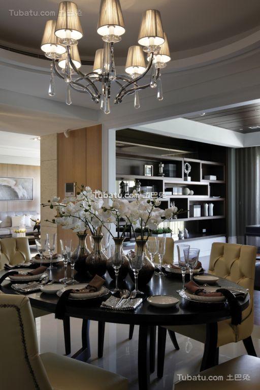现代室内餐厅设计装潢效果图