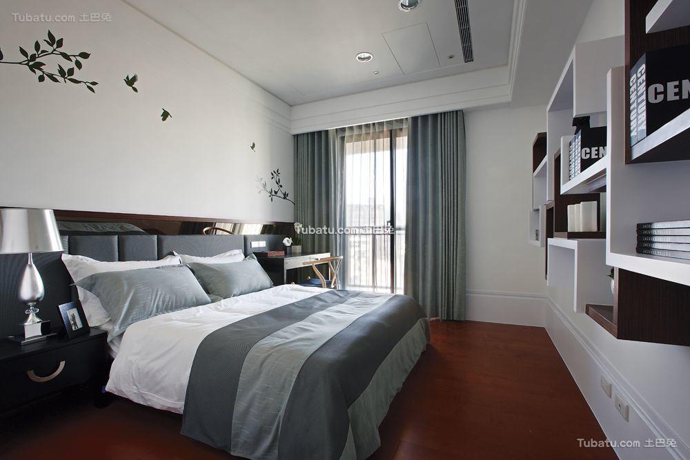 现代卧室房间设计效果图片