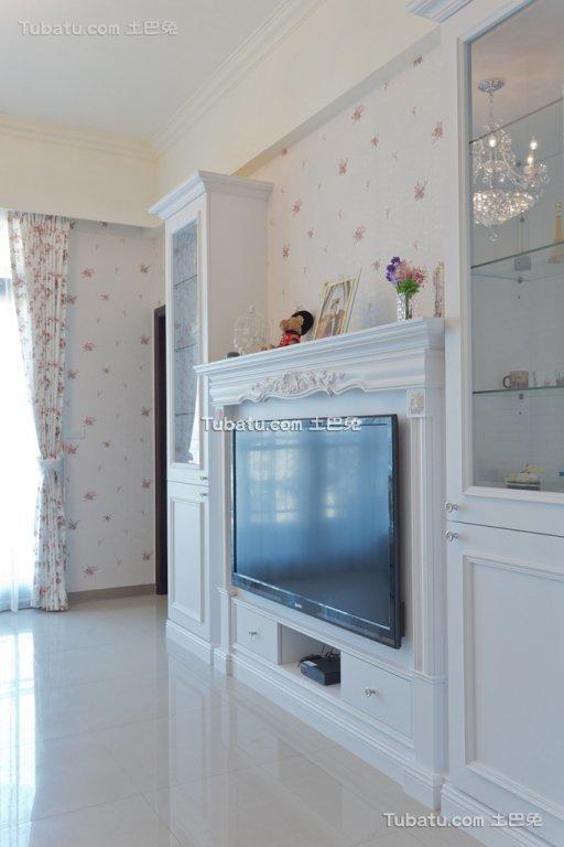 简约家装电视背景墙装饰效果图