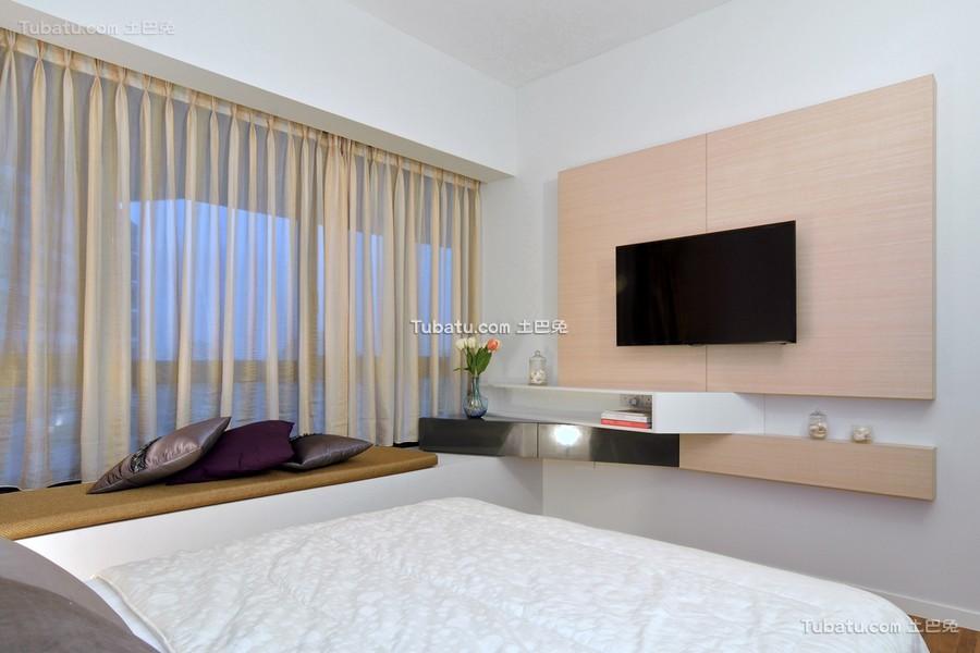 简约现代卧室局部设计