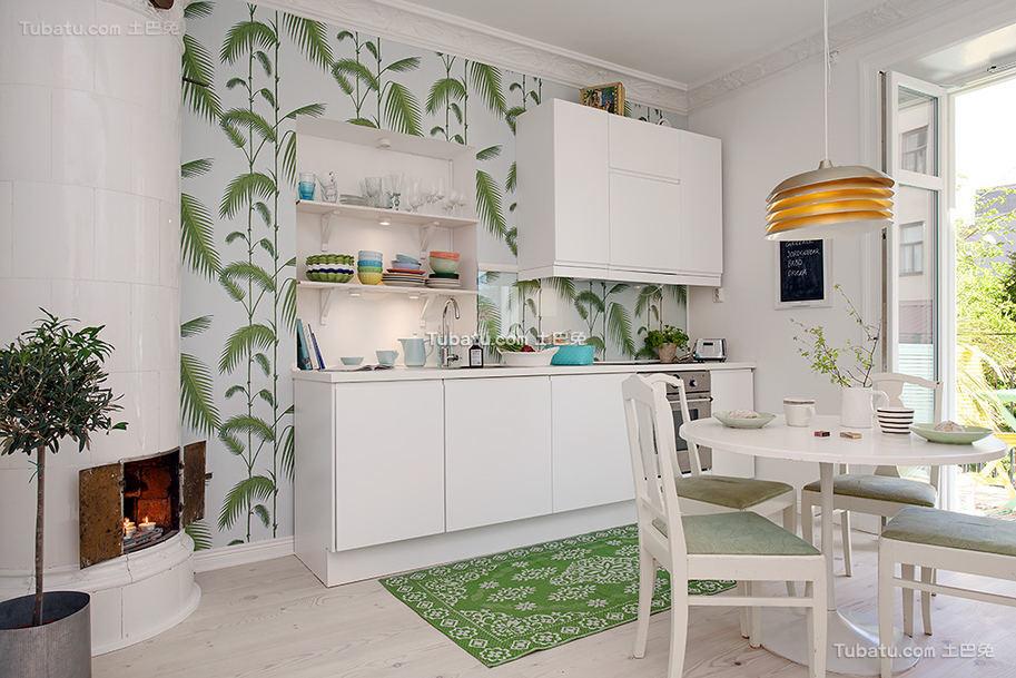 简洁北欧厨房装饰