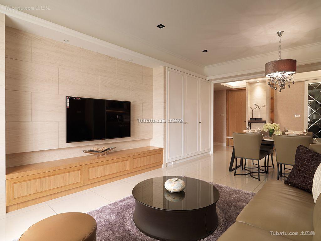 最新简约客厅设计效果图片